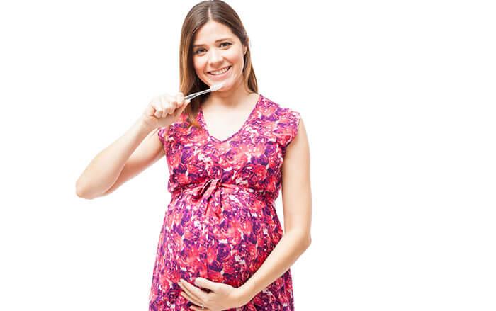 jak dbać o zęby w ciąży